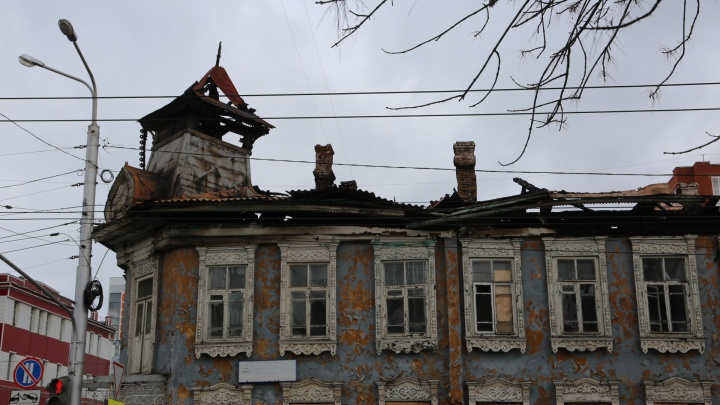 В Уфе на восстановление сгоревшей усадьбы Бухартовских потратят почти 3 млн рублей