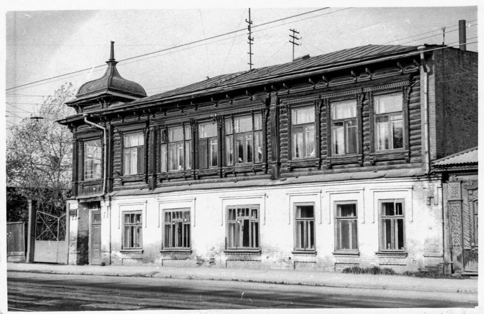 Так здание выглядело в советские годы<br>