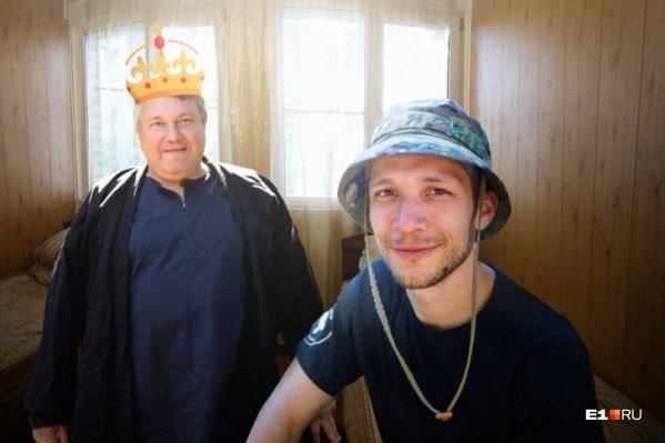 Альберт Ситников, который увлекается странной сектой, основал свой детский лагерь и обещал делать из подростков мужчин