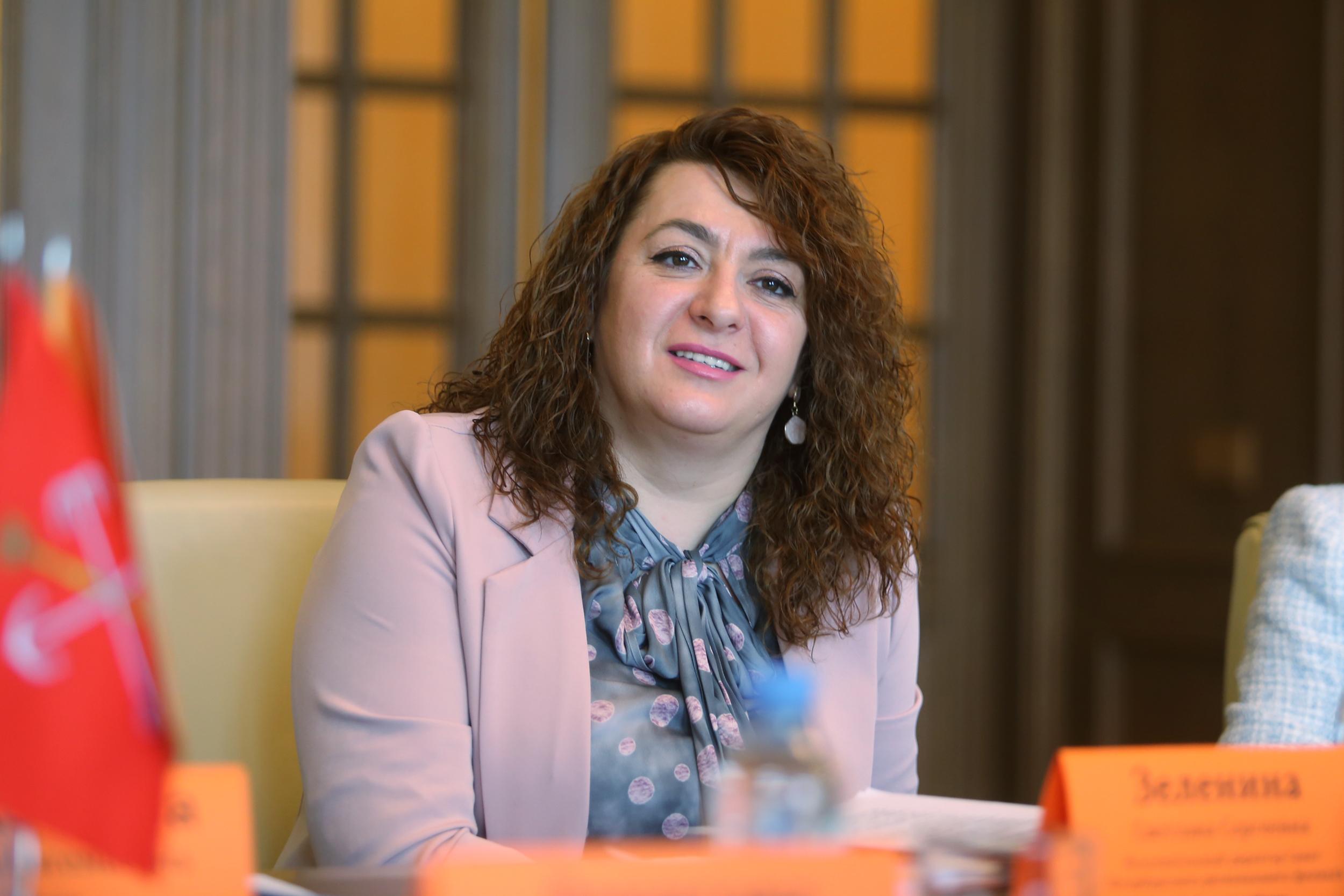 Светлана Зеленина, исполнительный директор Санкт-Петербургского регионального филиала АО «Россельхозбанк»