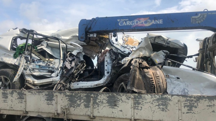 СК возбудил уголовное дело после столкновения машины и поезда под Анапой