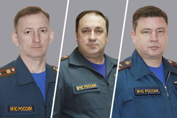 У Александра Дегтярева, Дмитрия Саенко и Владимира Устина (слева направо) самый крупный годовой доход среди коллег