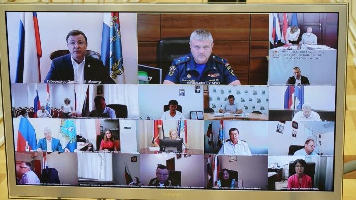 Губернатор предложил всем миром искать виновных в крупном пожаре в Тольятти