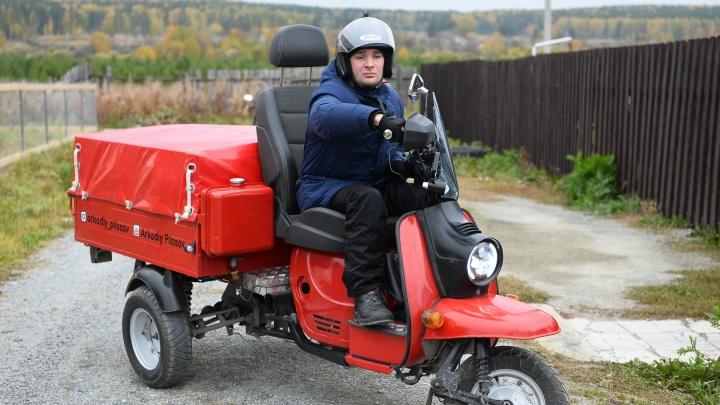 «Виталю сдуло в отбойник»: дневник екатеринбуржцев, которые едут в Крым на скутере и мотороллере