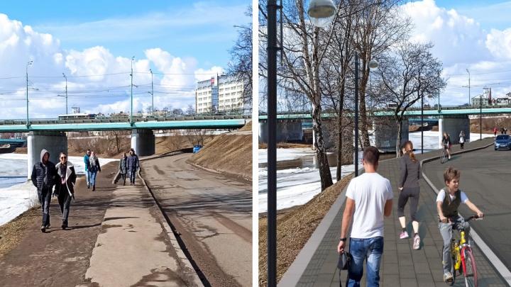 Как будет выглядеть обновленная Которосльная набережная в Ярославле: показали проект
