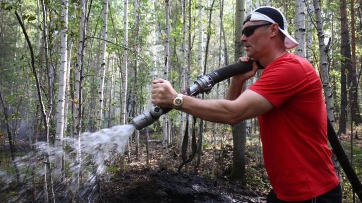 «Для того чтобы тушить пожары, нет ничего. Каменный век»: Ройзман — о полыхающих лесах под Екатеринбургом