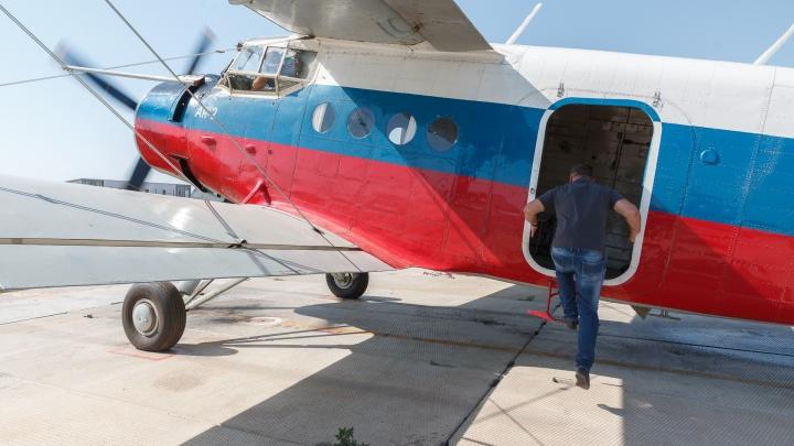 Посмотрели свысока на дубы: чиновник и подрядчик пролетели на самолете над будущей трассой в Волго-Ахтубинской пойме