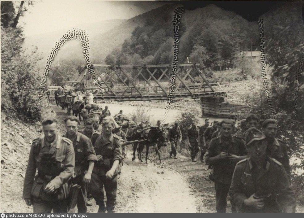 Архивные фото времен оккупации Кавказа