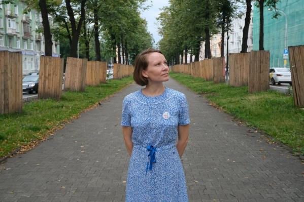 """Александра Семенова идет на выборы как самовыдвиженец по округу <nobr class=""""_"""">№ 21</nobr>"""