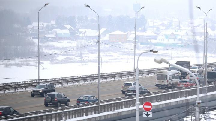 В Уфе закроют путепровод на пересечении проспекта Салавата Юлаева и улицы Заки Валиди