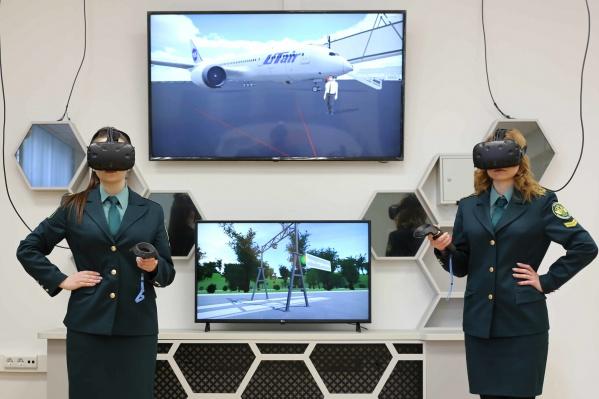 Учебные занятия будущих таможенников проводятся с использованием VR-тренажеров