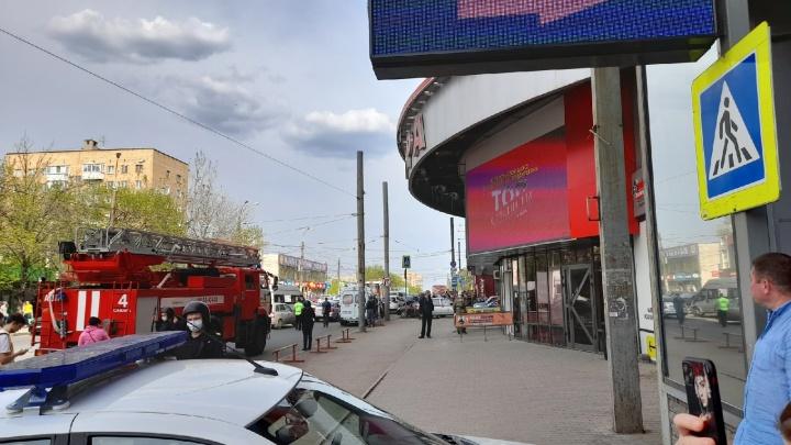 В Самаре эвакуировали ТЦ «Аврора Молл»