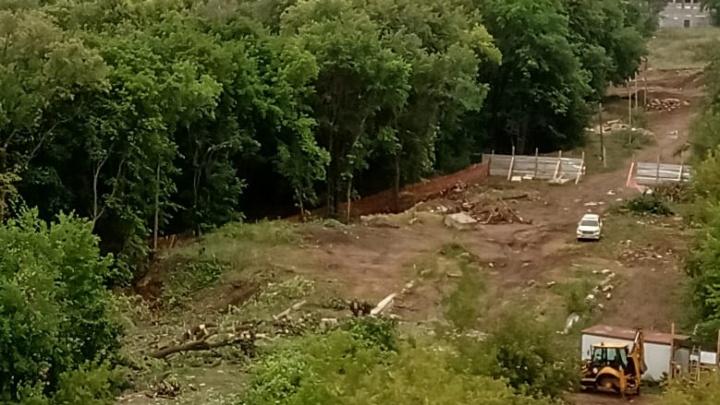 Возле Кошкина леса началось строительство, против которого протестовали уфимцы