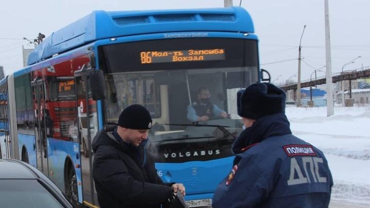 ГИБДД потребовала от новокузнецкого перевозчика соблюдать ПДД. За 4месяца он попал в 39аварий