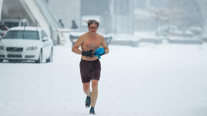 Ростов в снегу: фоторепортаж 161.RU c заснеженных улиц миллионника