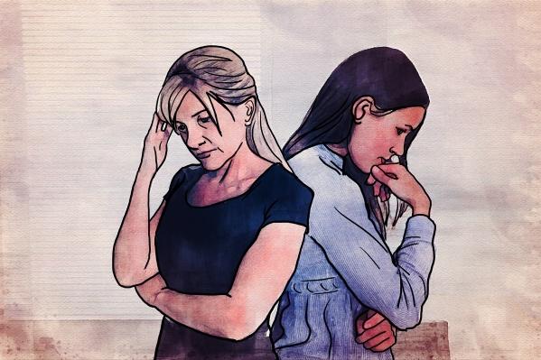 Недопонимание в отношениях часто огорчает и мать, и дочь