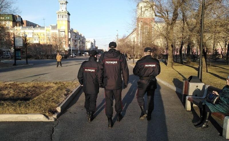 Обошлось без винтилова: митинг за Навального в Красноярске прошел без массовых задержаний