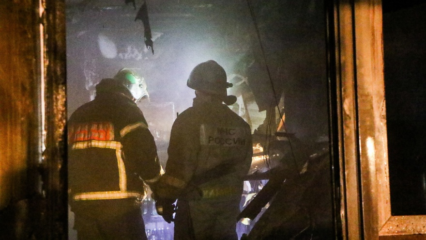Трое малолетних детей погибли из-за пожара в Вознесенском районе