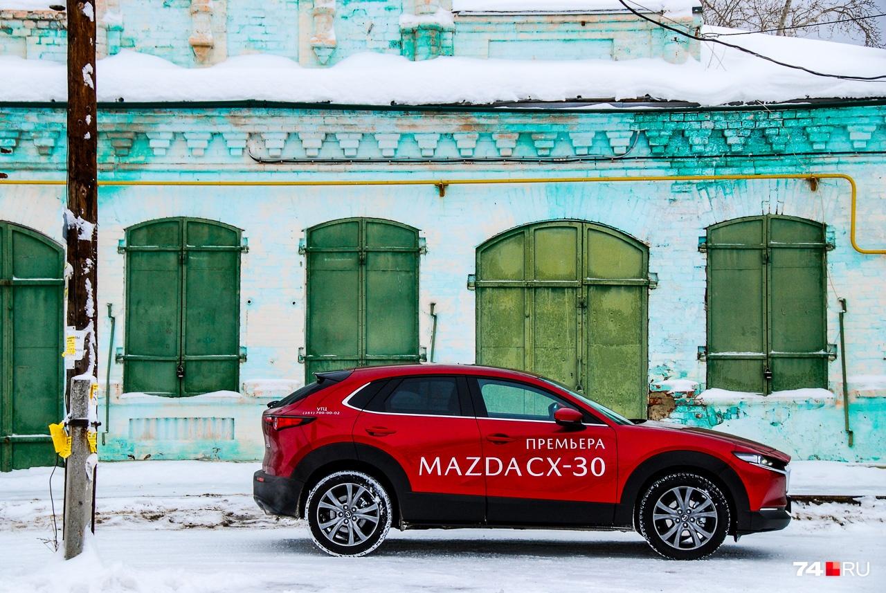 Платформа, колесная база и габариты близки к Mazda3