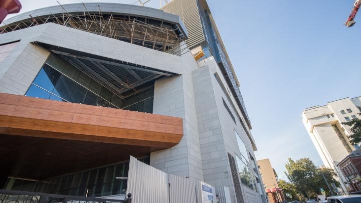 В Ростове опять сдвинулся срок сдачи отеля Hyatt, обещанного к ЧМ-2018
