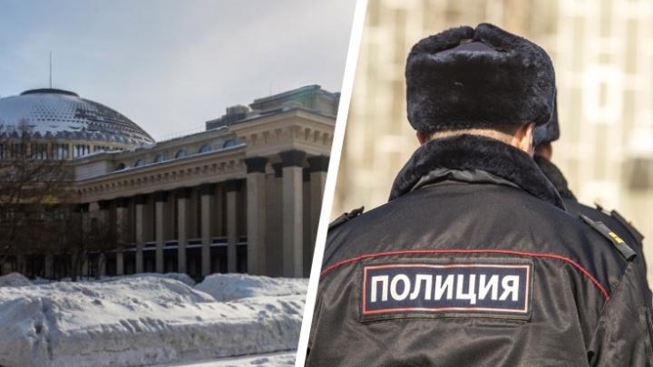 Сибирячка ударила полицейского по голове в сквере у НОВАТа и теперь пойдет под суд