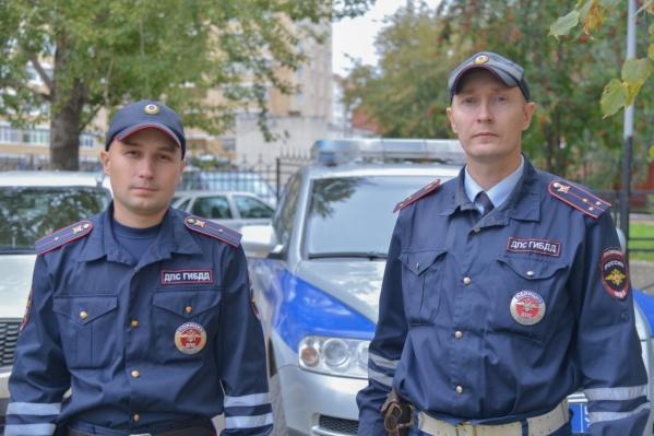 Константин Калинин (слева) и Владимир Макаров первыми оказались на месте ЧП