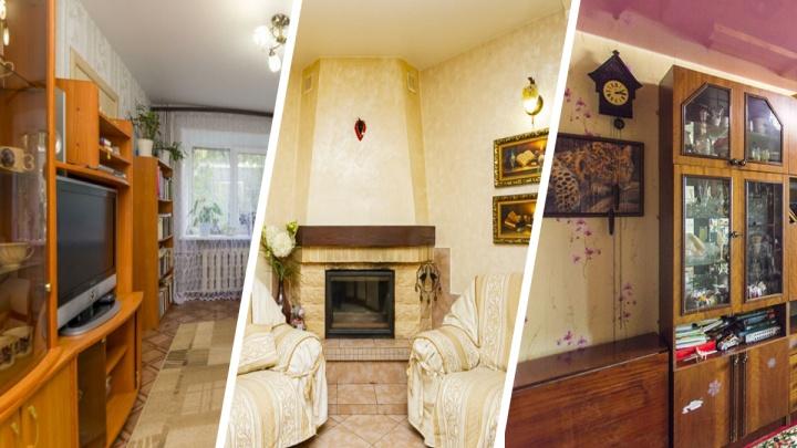 Камин в гостиной и двухуровневое жилье: топ самых дорогих квартир в хрущевках Екатеринбурга