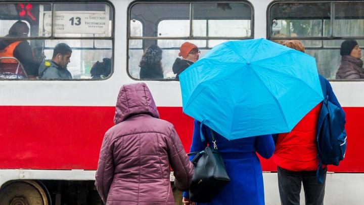 Возможен снег с дождем: в Самарской области ожидается похолодание