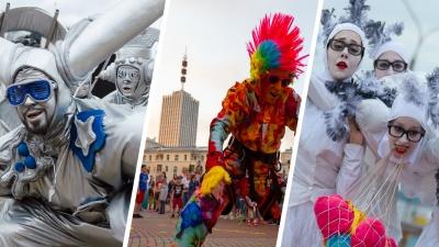 Уличные театры завершились: смотрите, как это было, в фоторепортаже Ивана Митюшёва