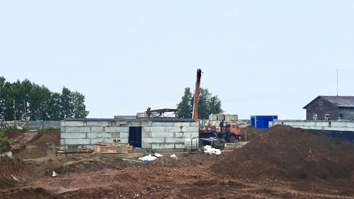 «Белый дом» начал подготовку к возведению стен нового здания Мезенской больницы