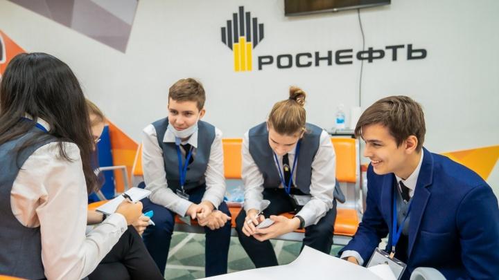 На территории присутствия «Восток Ойл» открылся первый «Роснефть-класс»