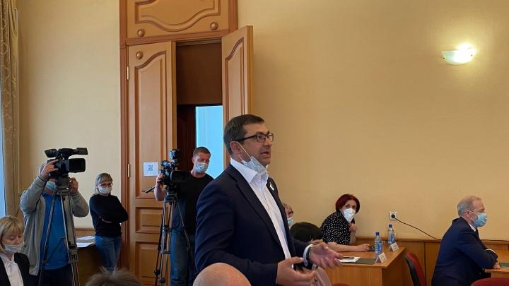 Депутат гордумы Кургана, соперничавший за пост мэра, ушел в отставку