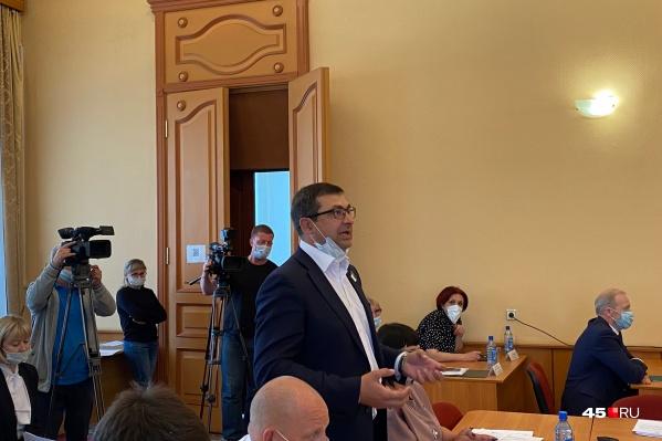 Роман Сергеечев был одним из двух кандидатов на пост мэра Кургана