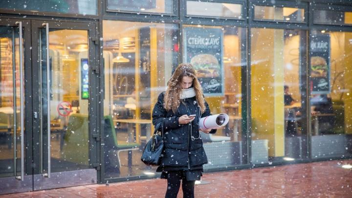 Температура ниже нуля и дожди со снегом. Прогноз погоды на грядущую неделю в Новосибирске