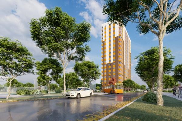 Дом будет готов в 4-м квартале 2022 года