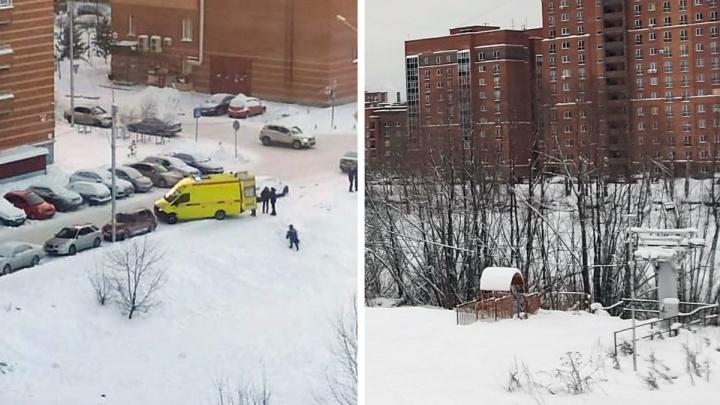 «Скорость была километров 50»: в Новосибирске школьница съехала с горки и разбилась насмерть