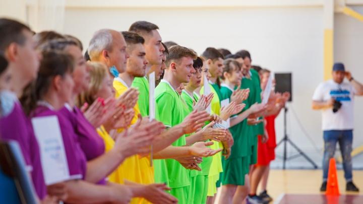 «Быстрее, выше и сильнее»: под Волгоградом прошла первая корпоративная спартакиада с участием российских спортсменов