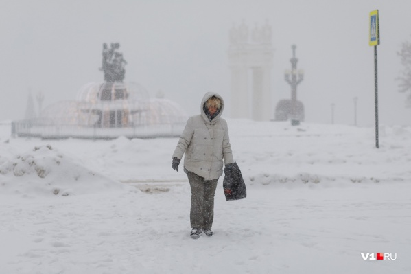 Волгоградцы вполне могли ощутить себя покорителями арктических просторов