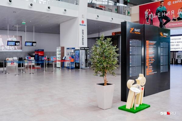 Рейсы в Дубай будут выполняться из пермского аэропорта по средам, начиная со 2 июня
