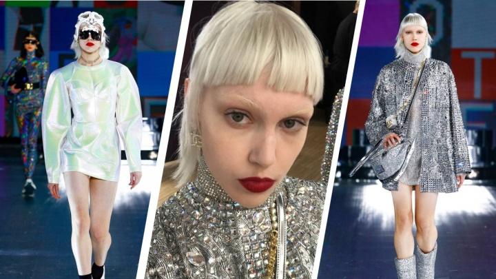 Модель из Верхней Салды улетела в Милан и выступила на показе Dolce&Gabbana