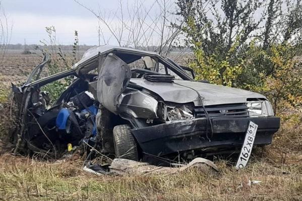 Трое ее сыновей погибли сразу на месте происшествия