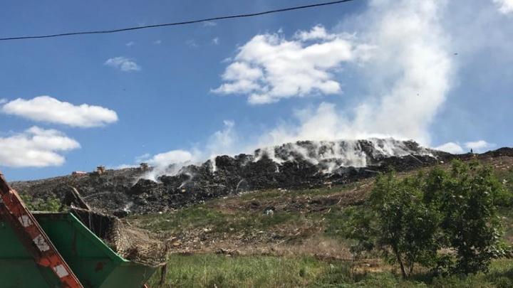 Начальник полигона в Черкассах рассказал о предполагаемой причине пожара