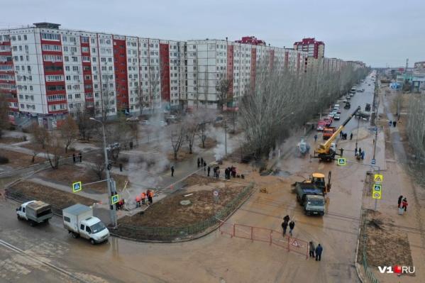 В начале 2021 года в Волжском случилась коммунальная трагедия