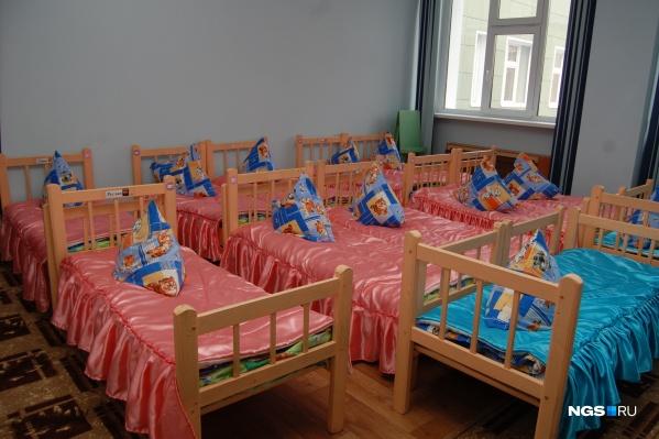 Пока закрыты 9 групп в новосибирских детсадах