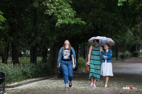 Впрочем, кого-то весенние дожди могут и порадовать