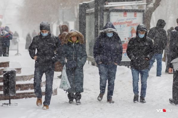 Синоптики обещают, что снег в Волгограде еще будет