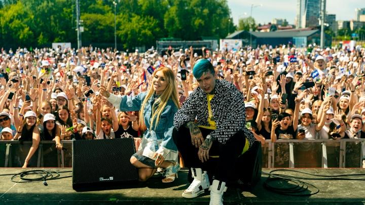 В парке Маяковского прошел фестиваль блогеров. Он собрал 11,5 тысячи человек