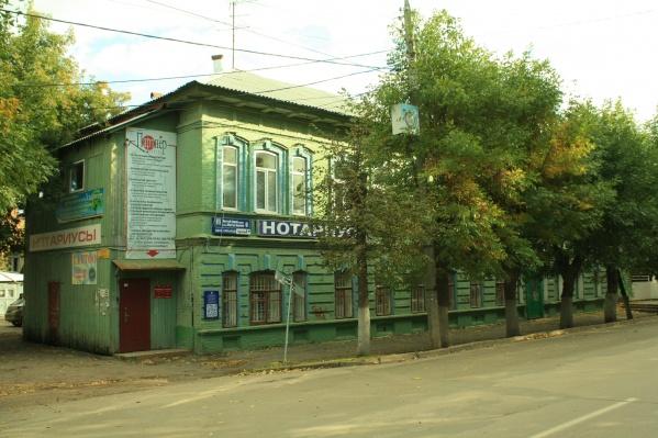 «Усадьба Хакимова» на улице Мустая Карима, 6