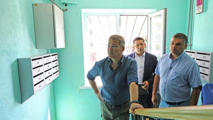 «Вопрос, куда ушли деньги, не стоит». Фонд ремонта подъездов в Башкирии ответил на критику Хабирова