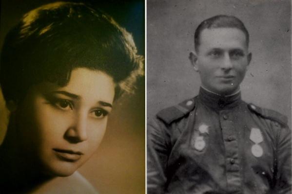 Слева — Элеонора Гриневич, справа — Александр Печерский